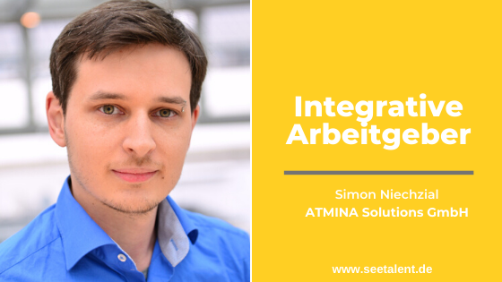 Integrative Arbeitgeber: Simon Niechzial über Flexibilität und ein diverses Arbeitsumfeld bei der  ATMINA Solutions GmbH