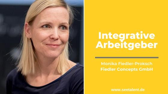 Integrative Arbeitgeber: Monika Fiedler von der Fiedler Concepts GmbH