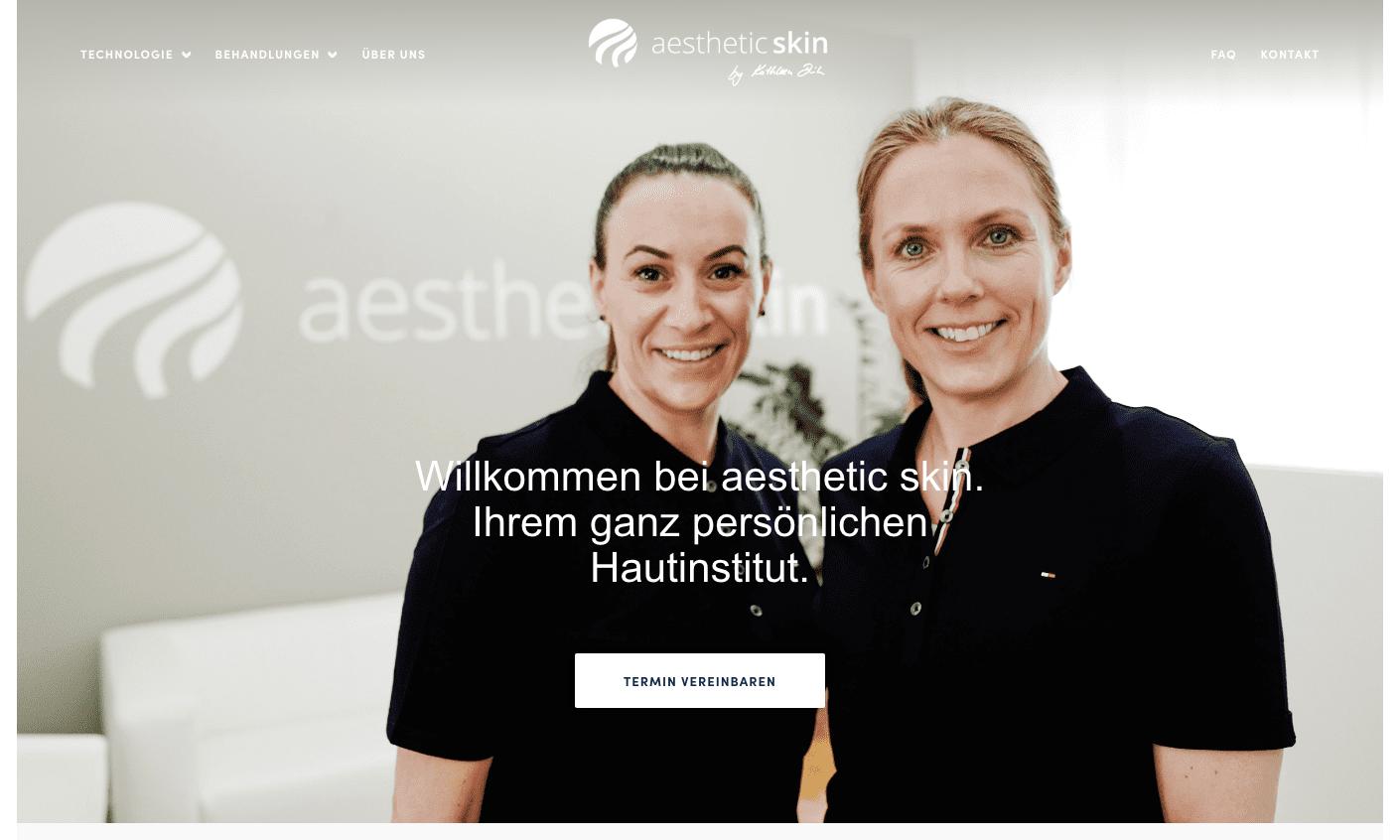 aesthetic skin Muenchen