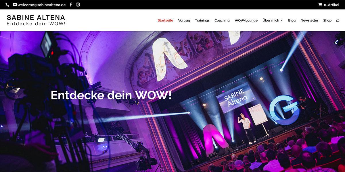 Sabine Altena Website
